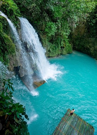 The Kawasan Falls, a three-layered waterfall, is one of the popular tourist destinations in the province. Canyoning tours are offered upstre
