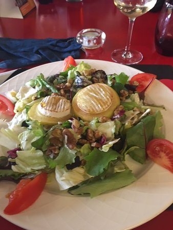 Le Pas'Sage: Salade Geitenkaas