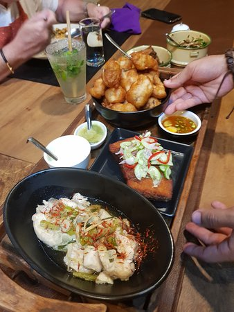 Half-Day Communal Dining Experience in Koh Samui: Various fish dishes