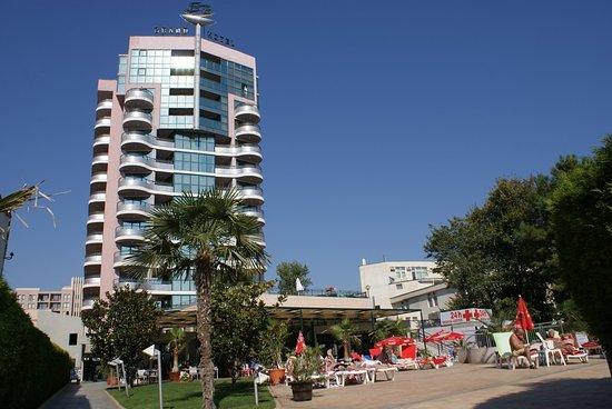 Window View - Picture of Grand Hotel Sunny Beach - Tripadvisor