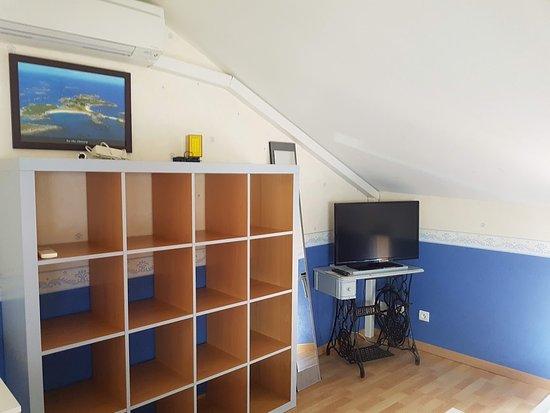 L'Hermine Occitane: Chambre 2 - cottage - TV - climatisation