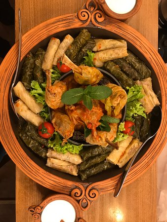 Our new Dolma set, let try together