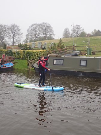 First outing of 2019! Paddleboarding and Mega SUP River Nene 🏄♀️💦🏄♂️