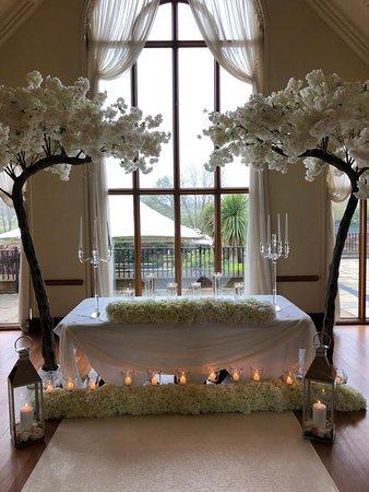 Civil wedding in The Rosewood Suite