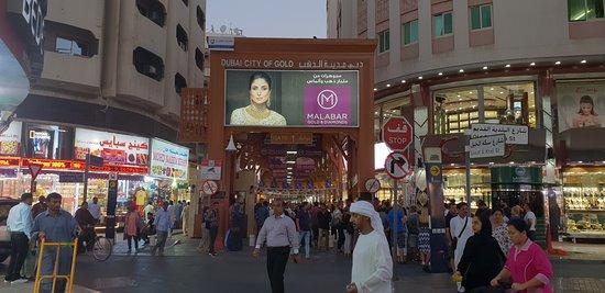 Dubai Gold Souk: ingresso