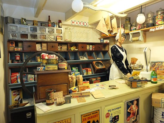 Nieuwe-Niedorp, Nederland: Een Kruideniers winkeltje