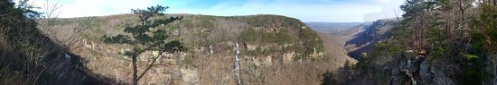 Rising Fawn, GA: Panoramic view from Overlook Trail