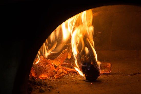 500度の薪窯