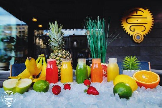Hugo Bar, Restaurant & Cafe: Freshness