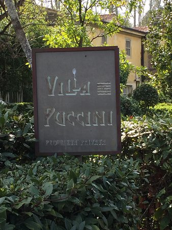 Museo Villa Puccini: Has the feel of a family home still.