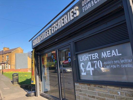 Croft Street Fisheries Leeds Menu Prices Restaurant