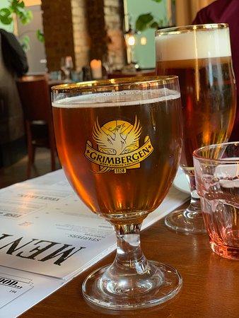 Upp eller Ner: We offer a range of different tap beers.
