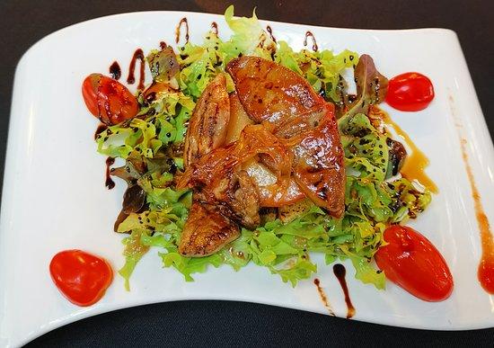 Zinc Restaurant and Bar: Foie Gras na ciepło