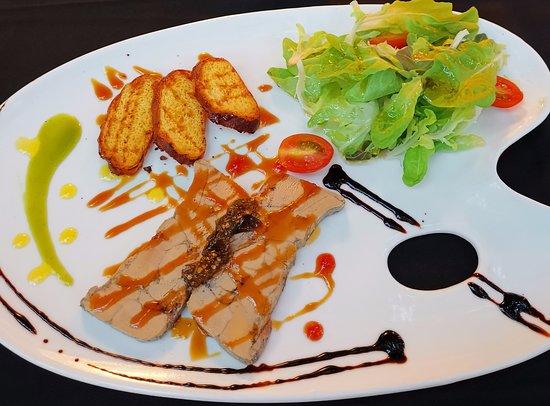 Zinc Restaurant and Bar: Foie Gras na zimno