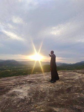 Por do Sol da Pedra do Curral Novo