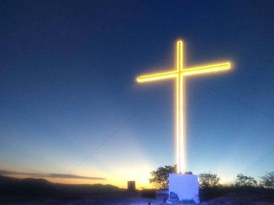 Cruz da Pedra do Curral Novo - Por do Sol