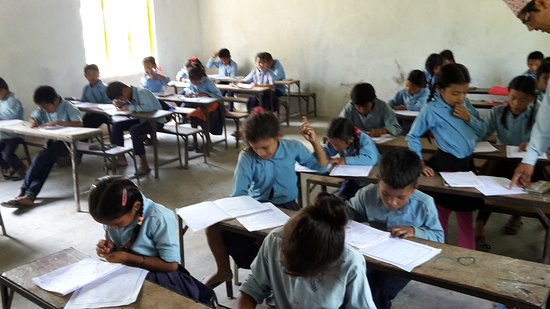 Exams at a public school in rural Nepal.  _________________________ Helping schools: help-education.org Teaching Nepali to tourists: https://www.udemy.com/speak-nepali/?couponCode=LSN16BL3H