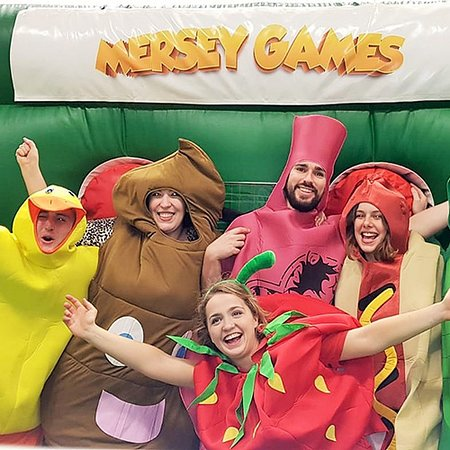 Mersey Games Manchester: Mersey Games in Manchester are great for Stags Hens birthday or any group event :)