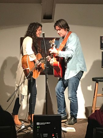 One of the monthly concerts at RoCA - Sarah Lee Guthrie and Johnny Irion.