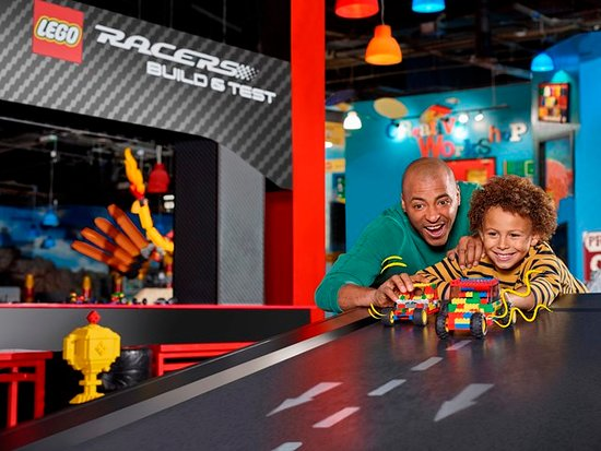 Schaumburg, IL: Build a LEGO car to race down our ramps in our Build & Test area! Who will win?