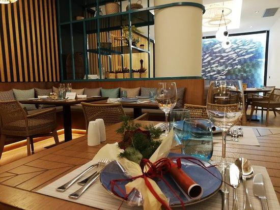 Restaurante Arrozante Granada: La bonita decoración