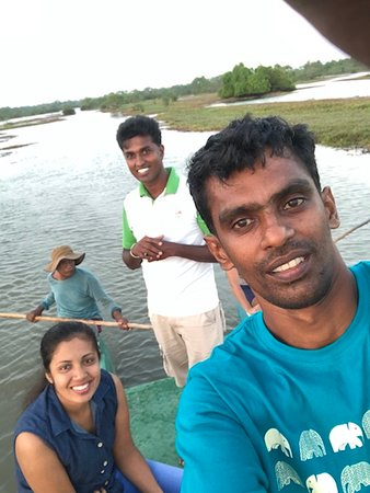 In the Middle of Tour in Kalametiya Bird watching, guided by Mahesh
