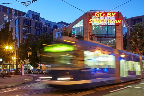 Portland Streetcar is a great way to get around the city.  Guests enjoy complimentary tickets with each stay and there is a stop right outside the hotel!