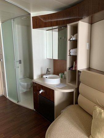 Norwegian Epic: Toilet and sink