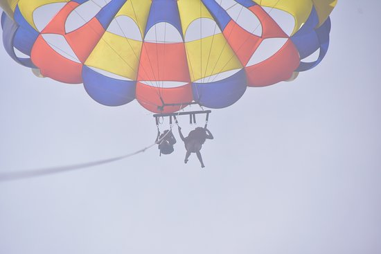 Chute for the Skye Parasailing: Picture package waste of money