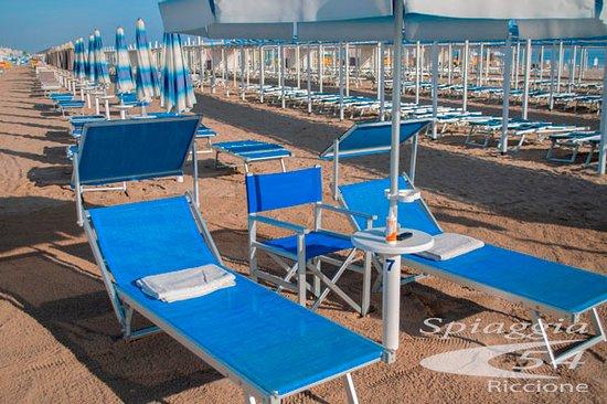 Bagni Nino & Nando beach 54 Riccione