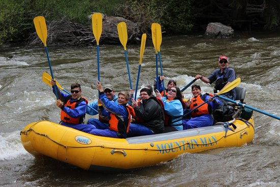 Mountain Man Rafting