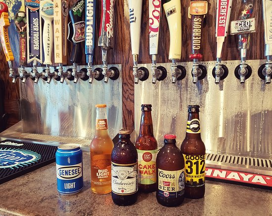 Swartz Creek, MI: We have a variety of craft beers on tap and in bottle.