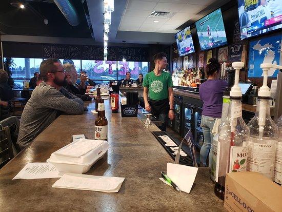 Swartz Creek, MI: Our bartenders hard at work!
