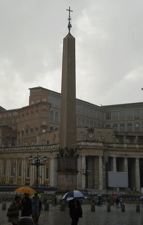 Vaticano Egyptian Obelisk: el Obelisco