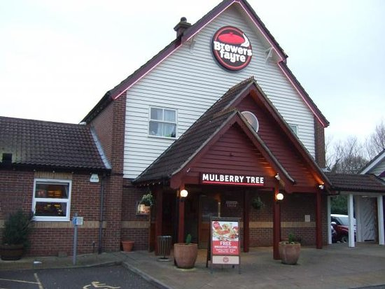 Buffet Brewers Fayre Mulberry Tree Braintree Traveller
