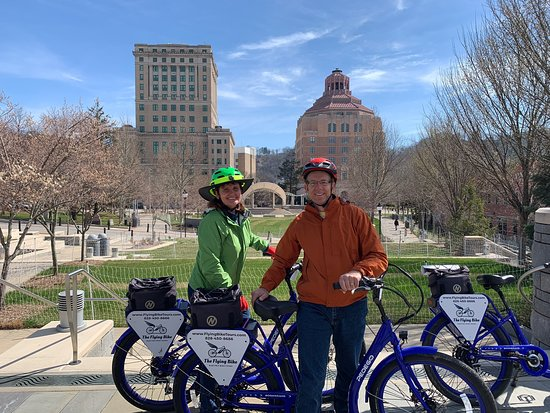 Asheville Historic Downtown Guided Electric Bike Tour with Scenic Views Resmi