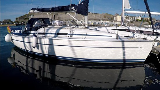 Sea Shanty - our beautiful Bavaria 36 sailing yacht - available for bareboat charter, skippered charter, corporate hospitality and events.