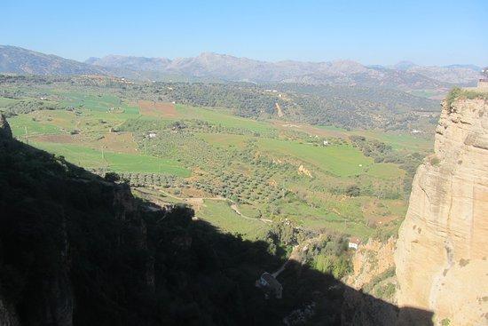 A view from the Mirador de los Viajeros Romanticos