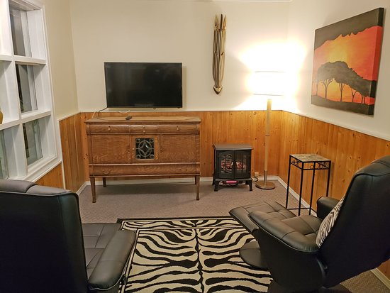 Salmo, Canadá: Living room in Safari