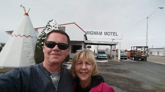 Route 66 Historic Wigwam motel