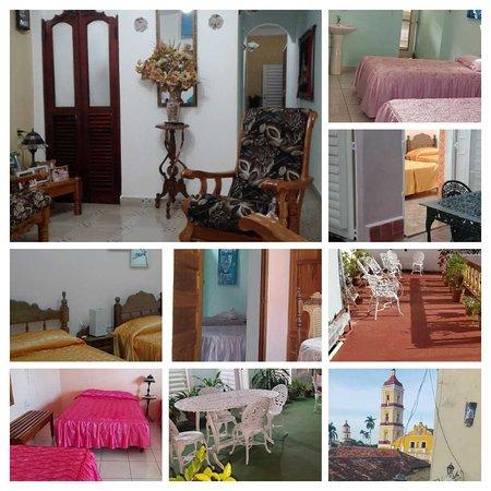 Hostal Haydee y Juan K en Remedios Cuba, terrazas con wifi