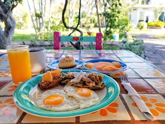Jarretaderas, เม็กซิโก: Huevos al gusto