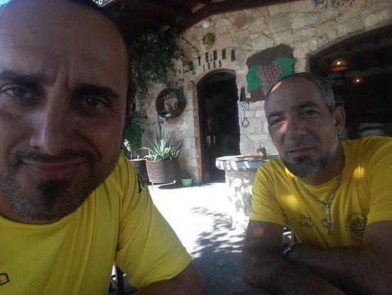 Lander Explorers team Drivers Mario & Savvas.