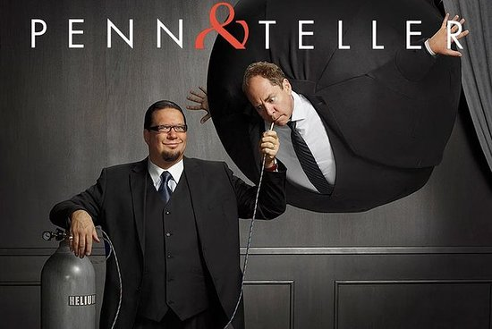 Tripadvisor Penn And Teller At The Rio Suite Hotel And Casino Provided By Penn Teller Las Vegas Nevada
