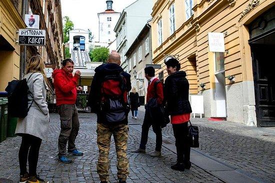 萨格勒布:4小时的早晨秘密和传奇小团体徒步旅行与缆车票