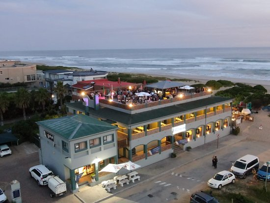 Pili Pili Beach Restaurant: View from the Drone! Amazing picture
