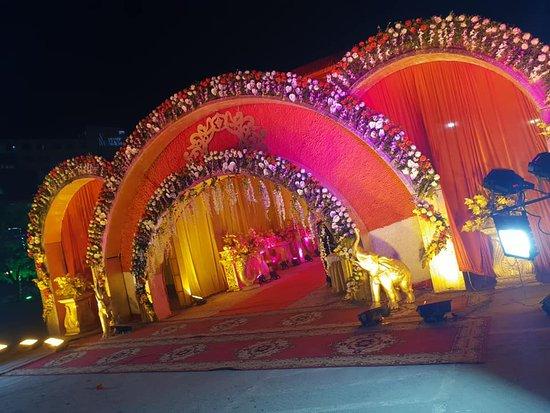 Balrampur, Indie: Gate