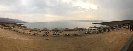 Panoramica del mar Muerto