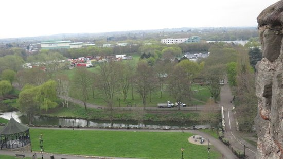 The view from the castle