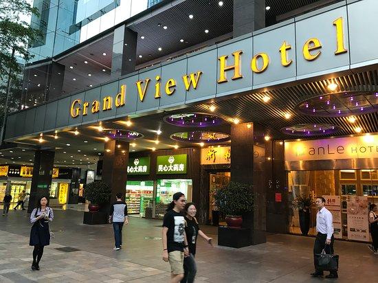 ホテル外観。
